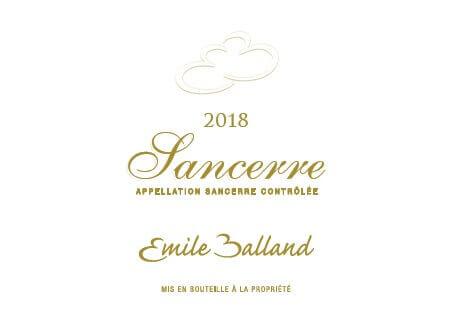 Emile Balland Sancerre 2018 front (2)