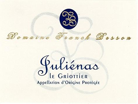Julienas Besson Le Griottier front