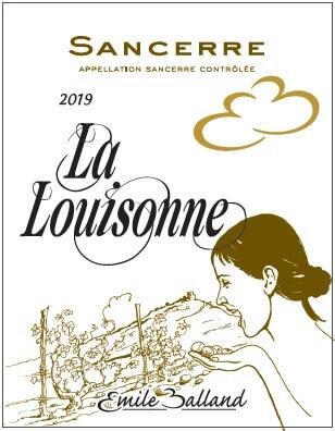 Balland Sancerre Rouge La Louisonne Front