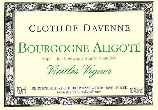 Clotilde Davenne Aligote Tres VV