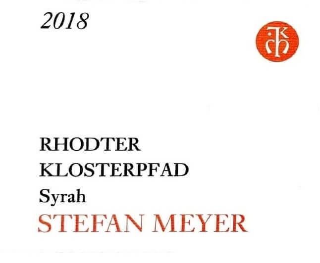 Stefan Meyer Syrah