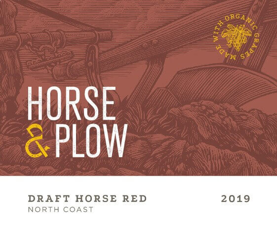 Draft Horse front 2019 Red