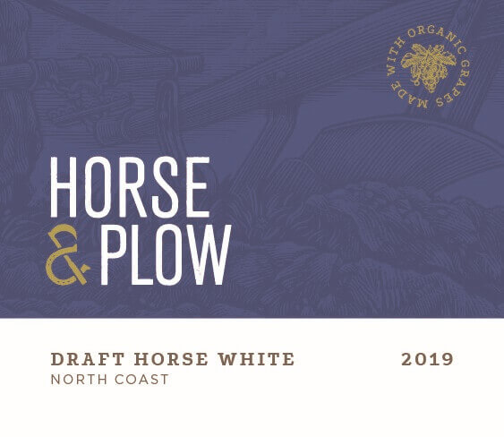 Draft horse front 2019 White