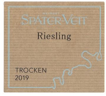 Spater Veit Riesling Trocken 2019 front label